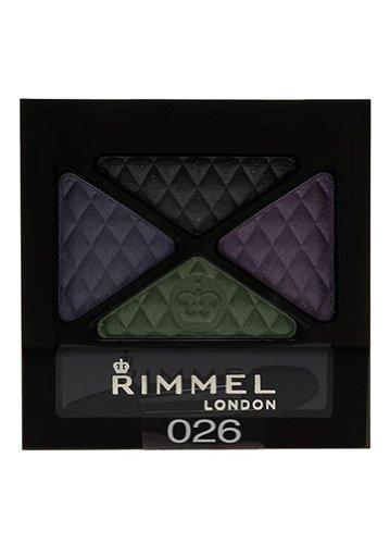 Rimmel Glam' Eyes Quad Eye Shadow, 026 Precious Crown, .14