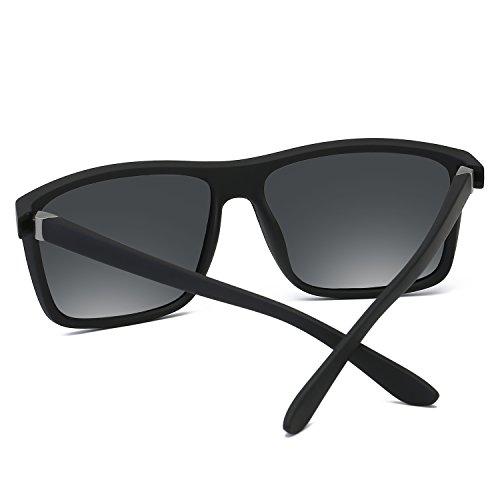 Excelentes Y BVAGSS Sand Lens Polarizado Classic Conducir Frame Gafas Black Hombre With De Montar Sol Gafas Gray Para WS021 Modelo Bicicleta Vintage wSqOxrzwaA