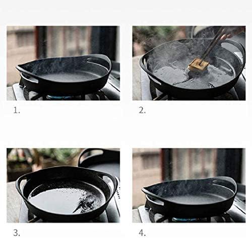 SHYOD Cuisinière avec Easy Grip Poignées de Profonde Pierre for le four ou la plaque chauffante for gaz, induction, faire sauter, Griller