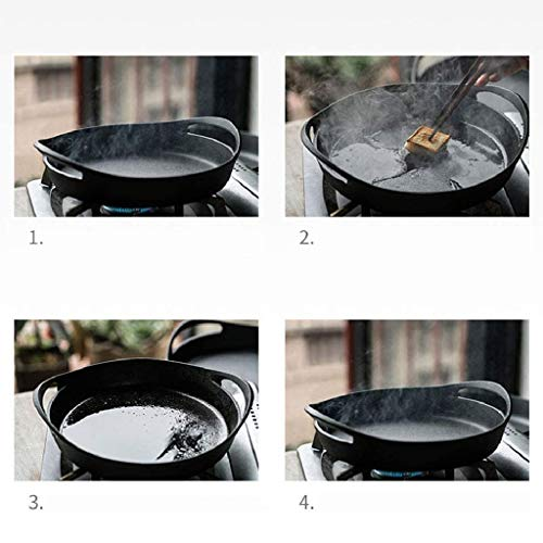 XLEVE Cooker with Easy Grip Handles,Deep Stone for Oven or Griddle for Gas, Induction, Sauteing, Grilling