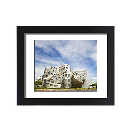 Media Storehouse Framed 15x11 Print of USA, Nevada, Las Vegas (12634569) (Lou Ruvo Center For Brain Health Architecture)