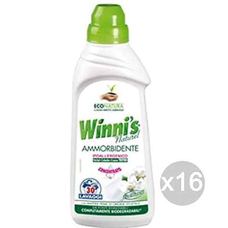 Winnis Juego de 16 Suavizante ML 750 Conc Flores Blancas ...