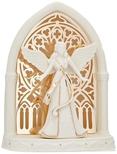 Lenox 879218 Illuminations Lit Angel Scene