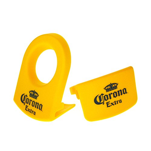 CoronaRita Yellow Drink Clips - For Margarita Glasses - Set of 8