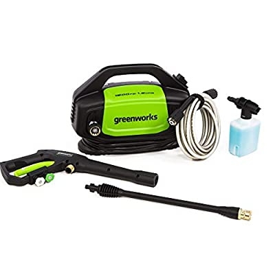 Greenworks 1500 PSI 1.2 GPM Electric Pressure Washer, GPW1502