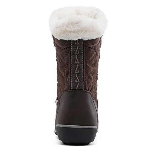 Globalwin Womens 1731 Snow Boots Invernali 37brown