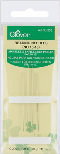 Clover Beading Needles, No. 10-13