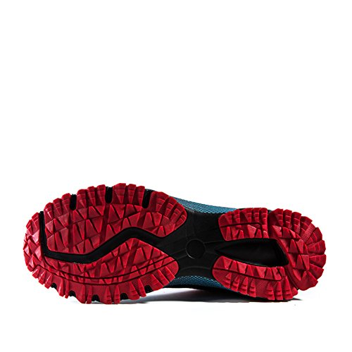 Running Flyknit US Shoes D Lightweight 8 Cushion M 5 Training Air Sport Men's Casual Red Shoes YUxSnRqTw