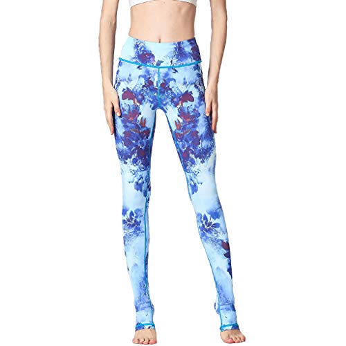 Caopixx Womens Yoga Sports Gym Leggings Running Workout Pants Fitness Stretchy Trousers