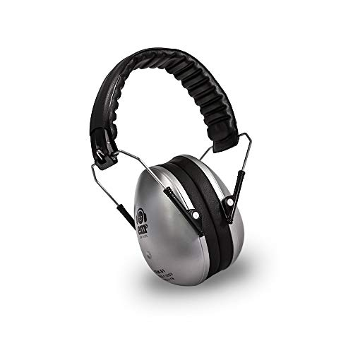 Ems for Kids Earmuffs - Silver. The Original Folding Children's Earmuff Since 2007. Use at Loud Events Including NASCAR, air Shows, Concerts, Festivals and More! ...