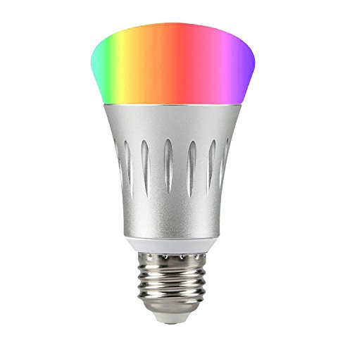 Cheap Smart Light Bulb Daylight, Smart WiFi Bulb Color Changing, Dimmable LED Night Light, Compatible with Amazon Alexa and Google Home, No Hub Required
