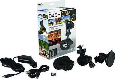 PILOT ELECTRONICS Dash Cam CL-3004WK Vehicle, Motorcycle, Bi