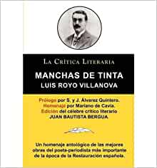 MANCHAS DE TINTA, LUIS ROYO VILLANOVA, COLECCI N LA CR