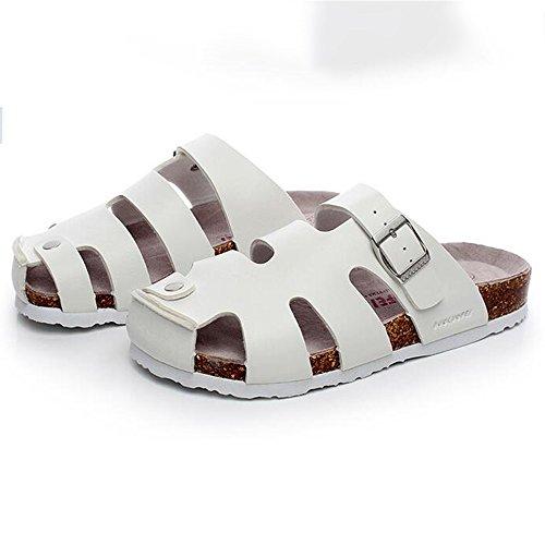 A Couleur Amoureux Les Chaussures Demi Sandales Ajouré Taille taille Baotou 41 D pantoufles Des Grande ZHANGRONG Été Femelle qnTzpwnvO