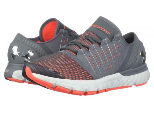 Under Armour(アンダーアーマー) メンズ 男性用 シューズ 靴 スニーカー 運動靴 UA Speedform Europa - Graphite/Neon Coral/Chrome [並行輸入品] B07BKVM5J2