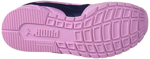PUMA Unisex-Kids ST Runner NL Velcro Sneaker, Orchid-Peacoat, 2 M US Little Kid by PUMA (Image #3)