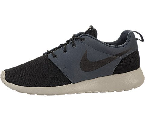 the best attitude 90603 386aa Nike Roshe Run - Black   Black-Dark Magnet Grey-Garnet, 10 D US - Buy  Online in Oman.   Shoes Products in Oman - See Prices, Reviews and Free  Delivery in ...