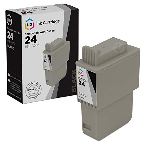 (LD Compatible Ink Cartridge Replacement for Canon BCI24Bk 6881A003 (Black))