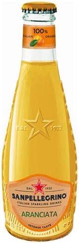 サンペレグリノ イタリアンスパークリングドリンク アランチャータ(オレンジ) 200ml瓶×24本入