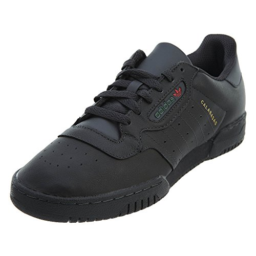 adidas Originals Yeezy Powerphase Mens Trainers Sneakers (UK 9 US 9.5 EU 43 1/3, Black sup col CG6420) (Adidas Samba Trainer)