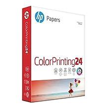 HP Printer Paper, Color Inkjet and Laser Copy Paper, 24lb, 8.5 x 11, Letter, 97 Bright - 1 Pack/400 Sheets (202040R)