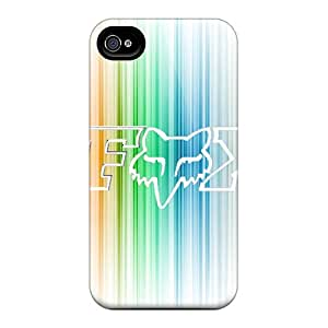 RsxIc7901Zowai LifeLeader Awesome Case Cover Compatible With Iphone 4/4s - Fox Racing