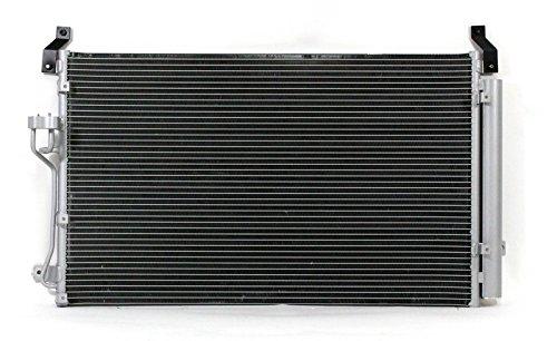 A-C Condenser - Pacific Best Inc For/Fit 3630 07-12 Hyundai Veracruz