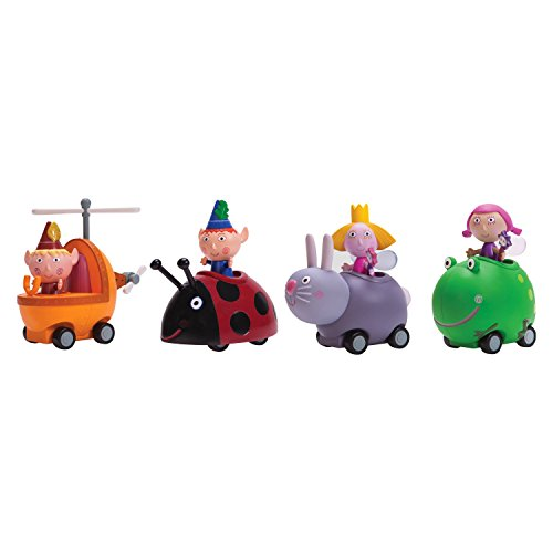 Ben & Hollys Little Kingdom Magic Movers Mini Push n Go Buggy 4 Pieces Exclusive