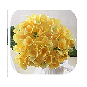 1 Branch Artificial Flowers Wedding Party Home Decor Hydrangea Bouquet Artificial Flowers Plants Dried Flowers Single Silk Cloth,11 12