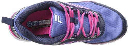 Fila Womens Forward Running Shoe Wedgewood/Fila Navy/Pink Glow sBv7gC
