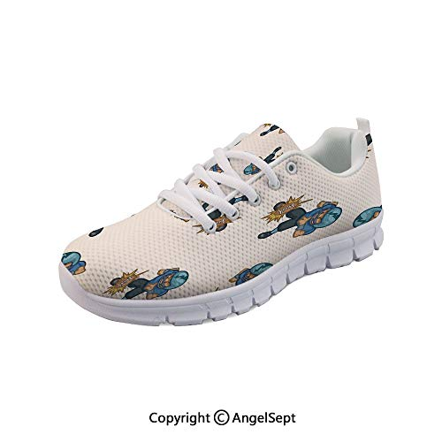 Fashion Sneakers Boys Cartoon Competitive Player Ball Outdoor Gym Shoes