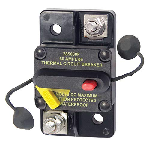 - Blue Sea Systems 285-Series Circuit Breaker - Surface Mount / 60A