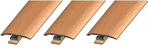 Maple Laminate Floor (Cal-Flor MD10053 Unitrim Waterproof 3-in1 Floor Molding 2
