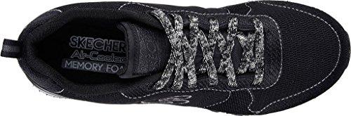 Skechers Sneakers Vrouwen Boven De 85 Shimmer Tijd Zwart Zwart
