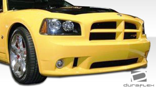 Compatible With Charger 2006-2010 1 Piece Body Kit Brightt Duraflex ED-RXU-350 Look Front Bumper Cover