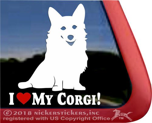 Corgi Pembroke Welsh Vinyl Sticker