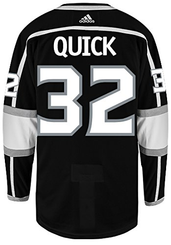 8dbf41668 Jonathan Quick Los Angeles Kings Adidas Authentic Home NHL Hockey Jersey