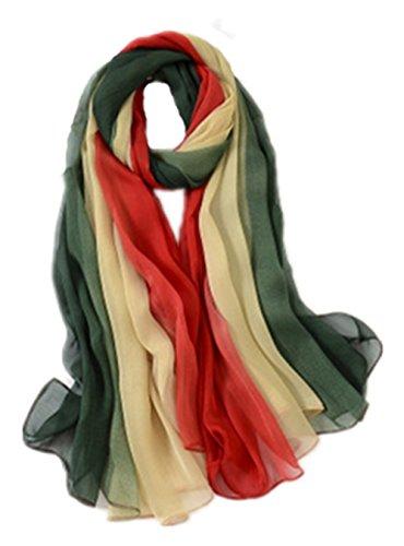 Femme rot 5 All Beige Echarpe grün qXwFrZWxEw