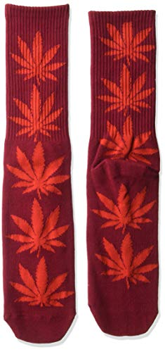 HUF Men's Plantlife Socks, terra cotta, -
