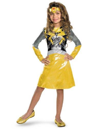 Female Bumblebee Transformer Costume (Bumblebee Girl Classic Costume Size: 3T-4T)