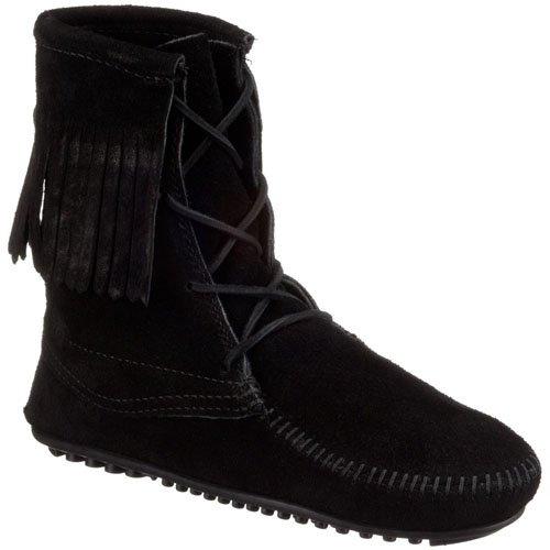Minnetonka Tramper Ankle Hi Boot 421T - Botas de ante para mujer Brown