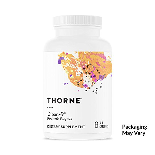 Cheap Thorne Research – Dipan-9 – Pancreatic Enzymes for Digestive Support – 180 Capsules