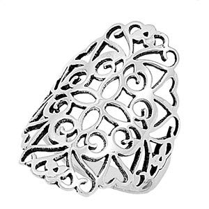 Glitzs Jewels 925 Sterling Silver Ring Cute Jewelry Gift for Women in Gift Box