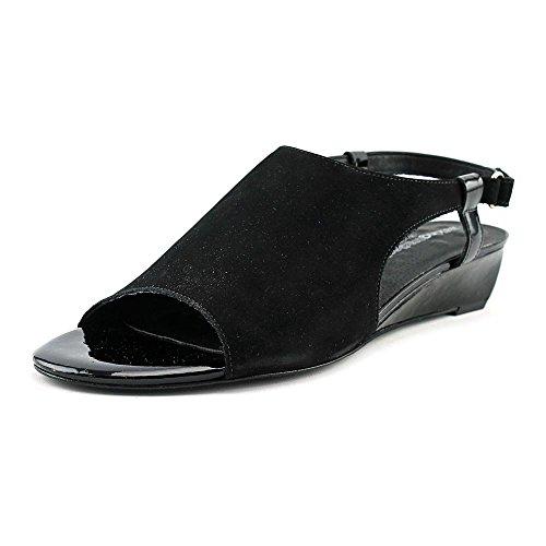 Passeggini Per Donna Tara Flat Nero Croc Patent