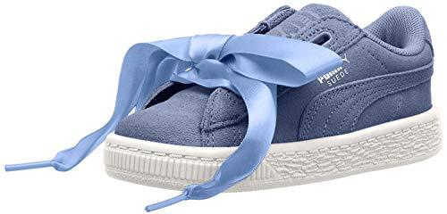 PUMA Kids' Suede Heart Sneaker