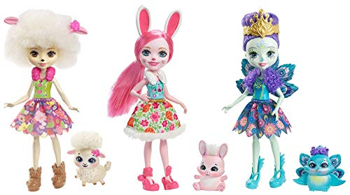 (Enchantimals Friendship Set Doll 3-Pack)