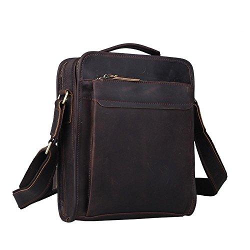 Crazy 5cmx28cm Horse Messenger Leather Bag Solo Skin Penao Men Messenger Retro Single Head Leather 24cmx8 n6agx0wq