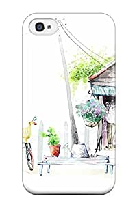 Fashion JQfDNcP19805kkLHx Case Cover For Iphone 4/4s(cute Artistic Abstract Artistic)