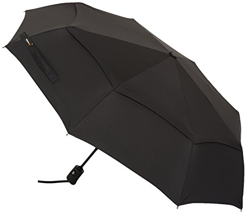 AmazonBasics Automatic Travel Umbrella Black