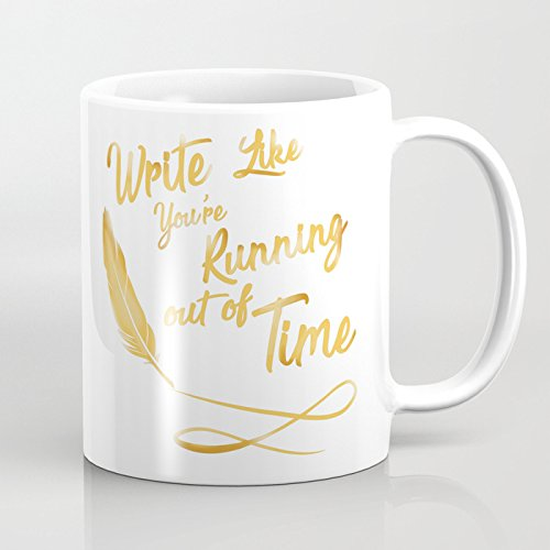 Hamilton Like your running out of time - Coffee Mug, Tea Cup